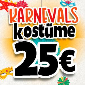 Kostüme für 25 Euro