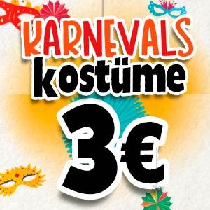 Kostüme für 3 Euro