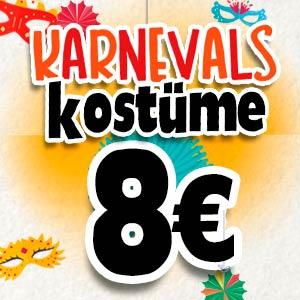 Kostüme für 8 Euro
